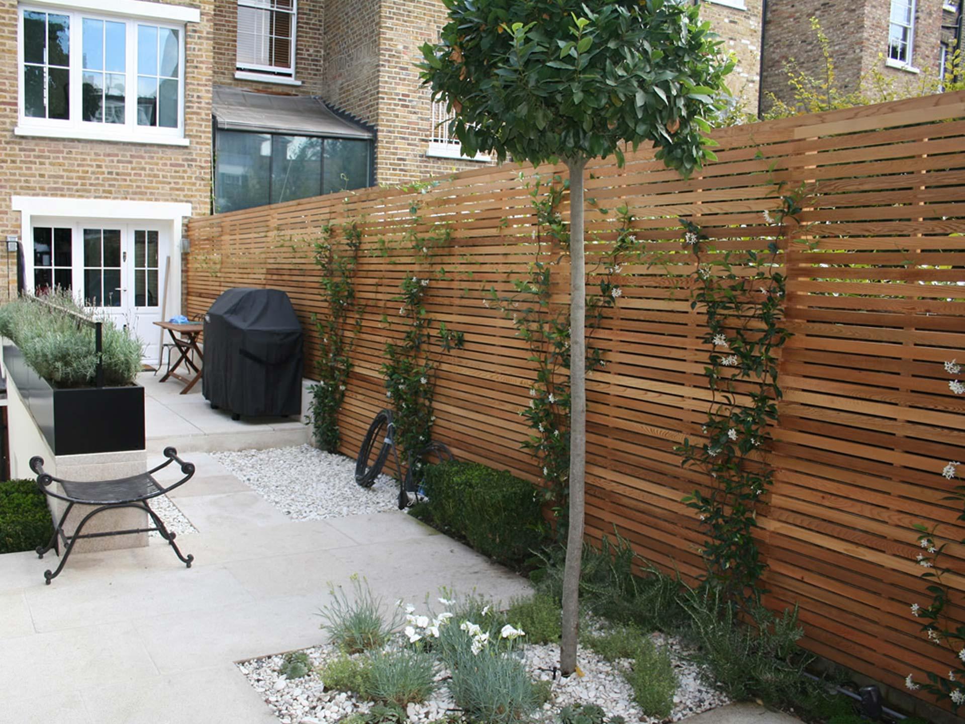 Houten schutting tuin loungeset 2017 for Schutting tuin
