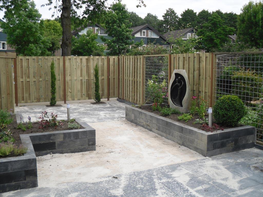 Tuin aanleggen in huizen
